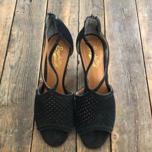 Seychelles Cone Heel Sandal